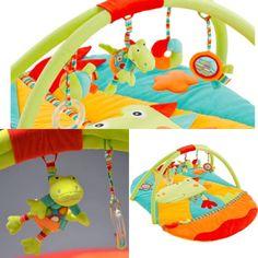 O Centro de Atividades Dinossauros é super macio para abrigar e entreter o bebê. Possui vários estímulos visuais, táteis e auditivos como espelho, sons variados e bichinho com vibração. Suas cores, estampas e desenhos também incentivam a imaginação do bebê. Centro de atividades 🚨  Por apenas R$389,90📢📢 Pagamentos via ✔️Pagseguro ✔️Mercado Pago ✔️Paypal ✔️Boleto ✔️Depósito Parcele em até 3x Encomendas via WhatsApp ☎️ 11 9 5943-0768 ou chat!