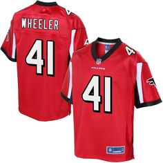 Philip Wheeler Atlanta Falcons NFL Pro Line Youth Player Jersey - Red  Broncos 4617da82f