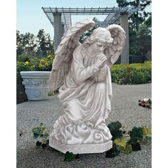 Small Angel Statues For Garden Praying Angel Statues For Garden Concrete Angel  Statues For Garden Bold Design Ideas Angel Garden Statues Amazing 10u2026