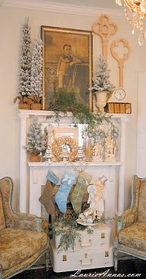Farmhouse Christmas from LaurieAnnas.blogspot.com