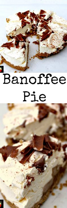 how to make a quick and easy banoffee pie