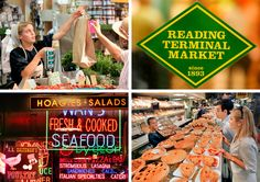 Reading Terminal Market, Philadelphia -- so much to see, so much to eat!