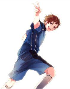 Koi, Boy Drawing, Manga Drawing, Anime Amor, Manga Anime, Boy Character, Character Design, Zutto Mae Kara, Honey Works
