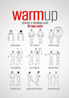 Pre-Workout Warm-Up Yoga Fitness - http://amzn.to/2hmQneS