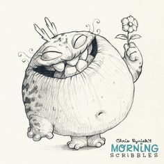 Sometimes you have to stop and smell the flowers…before you eat them . #morningscribbles