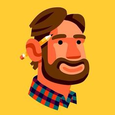 Chi Birmingham is an editorial and commercial illustrator specializing in colorful vector illustration. People Illustration, Portrait Illustration, Flat Illustration, Character Illustration, Character Design Animation, Character Art, Flat Design, Design Art, Adobe Illustrator
