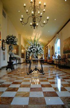 Decoración de recepción Quinta Real, by Flower Market!  Www.facebook.com/flowerMarket