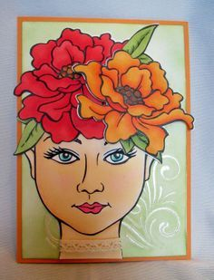 Stampendous Jumbo Blossom Beauty - Google Search
