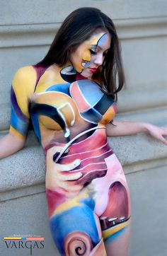 images of body painting | Body painting japanese ← Creative Paintings