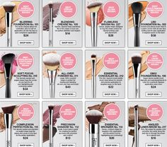 12 must have brushes from Ulta. I have all but two of these.
