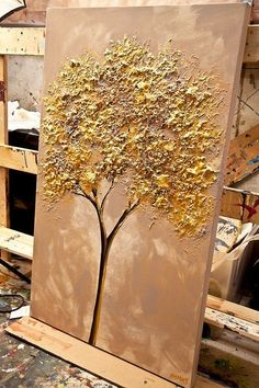 Gold Baum malen 40 x 24 Original abstrakt Super Ideas For Painting Tree Acrylic Canvas Ideasgold trees painted on canvas - Yahoo Search Results Yahoo Image Search ResultsShow a list of abstract and landscape paintings on saleCustom origina Acrylic Canvas, Abstract Canvas, Canvas Art, Painting Canvas, Canvas Ideas, Pour Painting, Abstract Landscape, Landscape Paintings, Glue Art