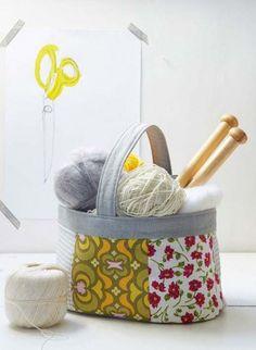 Knitting Basket Sewi