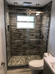 Florida State Glass and Mirror are experts in custom frameless showers & glass installation in Palm Beach & Broward County. Frameless Sliding Shower Doors, Frameless Shower Enclosures, Sliding Glass Door, Framed Shower Door, Glass Shower Doors, Glass Doors, Bathroom Tub Shower, Small Bathroom, Master Bathroom