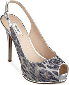 GUESS Huela Platform Sandals