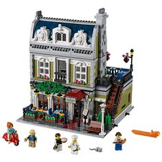 Cheap block toys, Buy Quality building blocks toy directly from China toy diy Suppliers: 2017 DHL MOC LEPIN 15010 City Street Parisian Restaurant Model Building Kits Set Blocks Toy Clone 10243 Diy Toys Restaurants In Paris, Lego Shop, Buy Lego, Lego Lego, Model Building Kits, Lego Building, Lego Modular, Thinking Day, Wishful Thinking