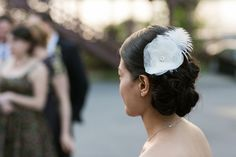 Hudson River Wedding Bride's Hairpiece