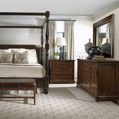 Bernhardt Poster Bed #bedroom