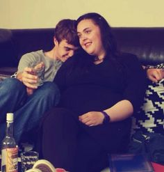 My Mad Fat Diary: Rae Finn and vodka S2