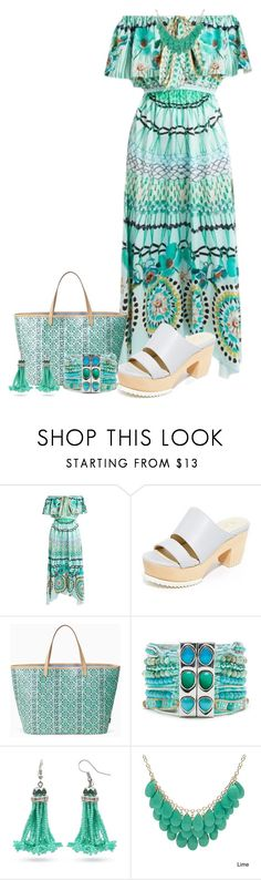 """Untitled #2866"" by freida-adams ❤ liked on Polyvore featuring Temperley London, Ouigal, Stella & Dot and Alexa Starr"
