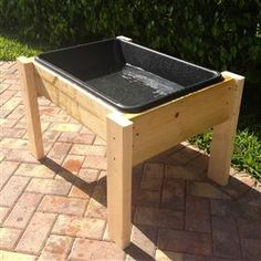 Exceptional Make A DIY Water Table For Less Than $15 | Water Tables, Water And Toddler  Preschool