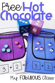 If you enjoy thematic teaching, this source is for you. You will find a variety of winter themed math, literacy, and wri Kindergarten Centers, Preschool Math, Math Centers, Math Literacy, Preschool Winter, Winter Craft, Kindergarten Crafts, Math Stations, Mini Marshmallows