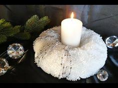 Weihnachtsdeko – christmas decoration – Kranz basteln - YouTube
