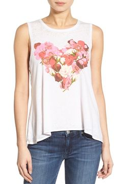 Chaser Graphic High/Low Tank available at #Nordstrom