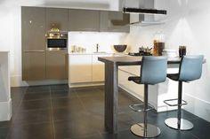 Grijze Design keuken 20
