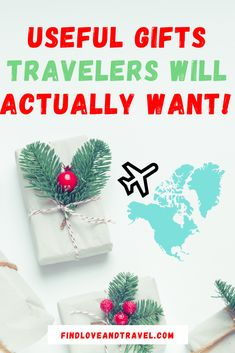 Super Useful Gifts That Travelers Will Actually Want! This Traveler Gift Guide includes gifts at every Price Point From Cute Stocking Stuffers to high-end Electronics for the every traveler! Travel Essentials, Travel Tips, Travel Hacks, Travel Abroad, Travel Guides, Best Travel Gifts, Best Gifts, Cute Stockings, Travel Gadgets