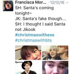 #ChristmasWithBTS #ChristmasWithEXO