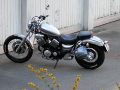 My yamaha virago 535 silver ghost project