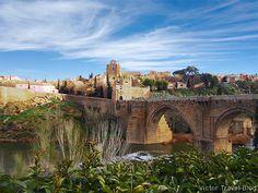 San Martin most.  Toledo, Hiszpania.