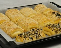 Pizza Tarts, Greek Recipes, Cooking Time, Hot Dog Buns, Food Processor Recipes, Food And Drink, Sweets, Bread, Breakfast