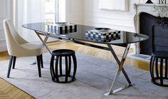 Tables: PATHOS – Collection: Maxalto – Design: Antonio Citterio