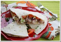 Pork BBQ Quesadillas | Doughmesstic