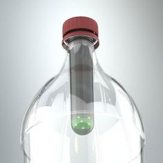 A patent-pending Picosolar light bulb, which screws into a soda bottle creating a clean, low-cost lantern.