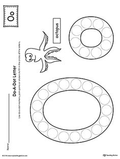 Letter O Do-A-Dot Worksheet Worksheet.The Letter O Do-A-Dot Worksheet is perfect for a hands-on activity to practice recognizing the letters of the alphabet and differentiating between uppercase and lowercase letters. Letter O Activities, Letter Worksheets For Preschool, Preschool Letters, Preschool Printables, Kindergarten Worksheets, Printable Letters, Printable Worksheets, Letter O Crafts, Dot Letters