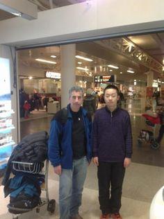 Ajedrecistas Baleares en el mundo: Joan Cubas junto Wey Ji (GM más joven de la historia) en Reikiavik #ajedrez #chess #escacs #4x1x64