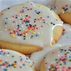 """Shiny Cookie Icing 