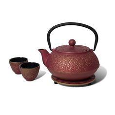Cast Iron Tea Set Plum, $39, now featured on Fab.