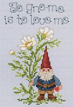 To Gnome - Cross Stitch Pattern