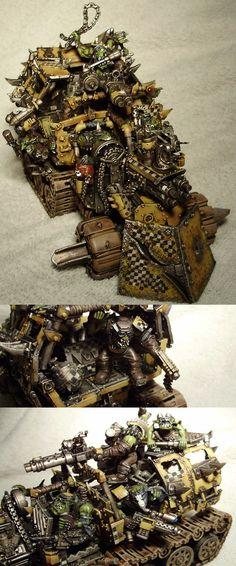 Warhammer 40.000 Ork Trukk by Nazroth