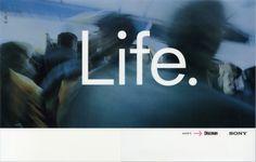 Sony, Life; Creatives; Dave Dye & Richard Flintham