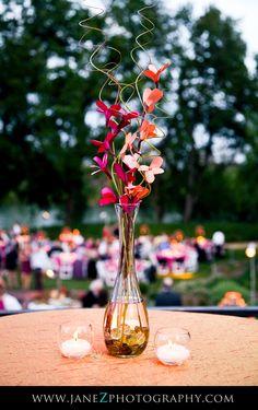 Wedding Cocktail Hour Centerpiece