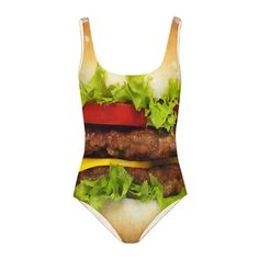 this is awesome. now i'm hungry. Hamburger One-Piece, $35, now featured on Fab.