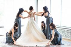 Bride before her big day | Planned by Ilana Ashley Events