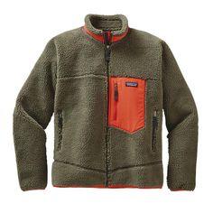 Patagonia Men\'s Classic Retro-X\u00AE Fleece Jacket - Industrial Green INDG