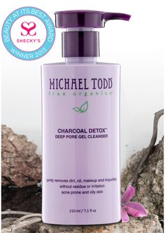 detox and deep clean your face with this charcoal gel cleanser! #organic #detox #skincare http://www.michaeltoddtrueorganics.com/index.php/skin-type/blemished-oily-skin/charcoal-detox-deep-pore-cleanser.html/?acc=812b4ba287f5ee0bc9d43bbf5bbe87fb&bannerid=6