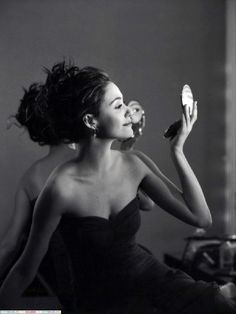 Emmy Rossum. Reminds of Audrey Hepburn in this one