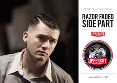 How to Style a Razor Faded Side Part | Step by Step Tutorial